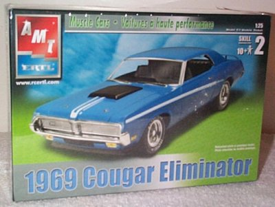 '69 Mercury Cougar Eliminator Model Kit