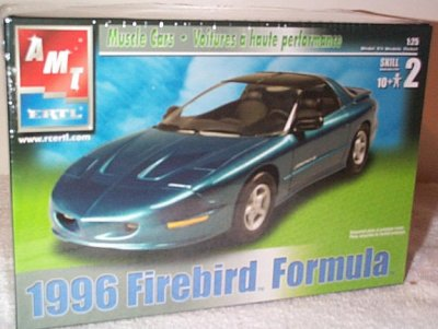 '96 Firebird Formula Model Kit