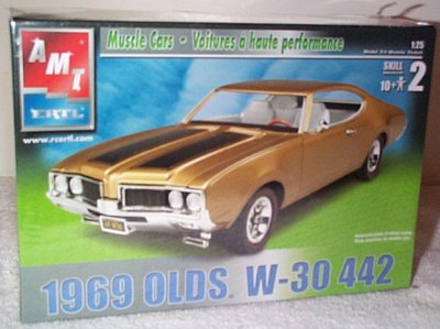'69 Olds 4-4-2 W-30 Model Kit