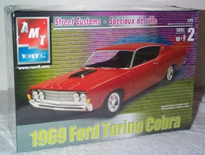 '69 Ford Torino Cobra Street Custom Model Kit