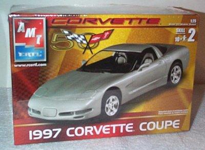 '97 Chevrolet Corvette Coupe Model Kit
