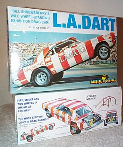 L.A. Dart Wheelstander Model Kit