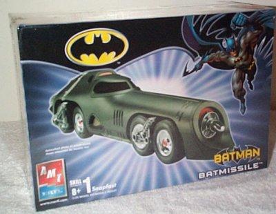 Batman Batmissile Model Kit
