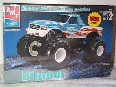 Bigfoot Ford 4x4 Monster Truck Model Kit