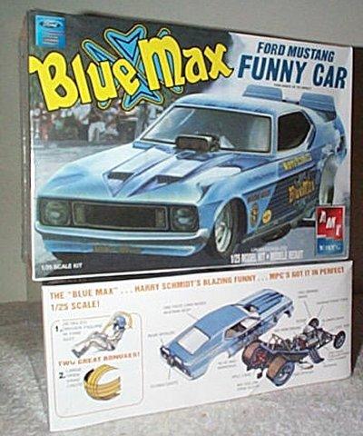 Blue Max Mustang Nitro Funny Car