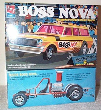 Boss Nova S/W Mid-Engine Drag Car