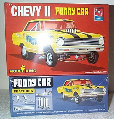Chevy II Twister AWB Model Kit