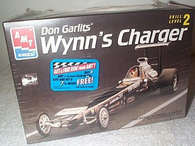 Don Garlits Wynn's Charger Fuel Dragster