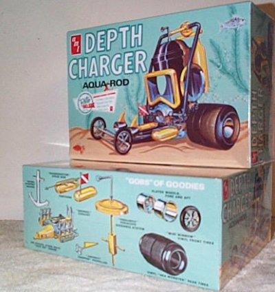 Depth Charge Aqua-Rod Model Kit