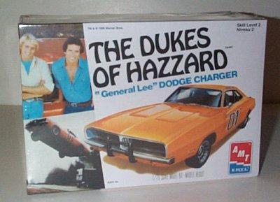 Dukes Of Hazzard General Lee Model Kit