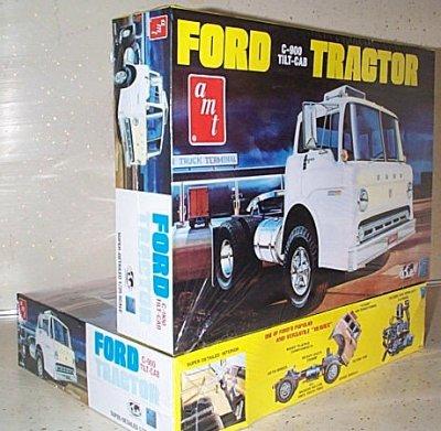 Ford C-900 Tilt-Cab Model Kit