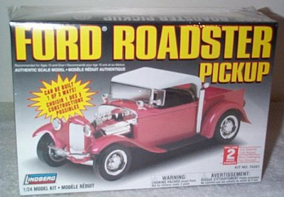 Ford Roadster Pickup Street Rod Model Kit