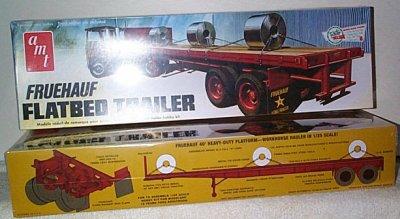 Fruehauf Flatbed Trailer Model Kit