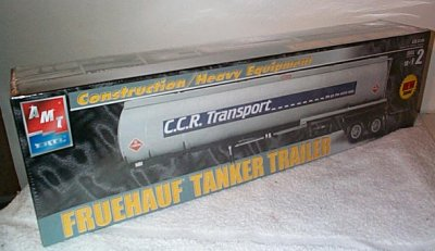 Fruehauf Tanker Trailer Model Kit