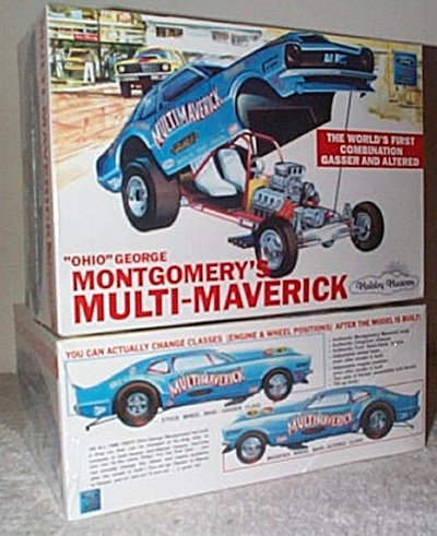 George Montgomery Multi-Maverick Model Kit