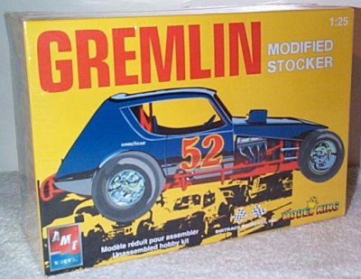 AMC Gremlin Modified Stock Car Model Kit