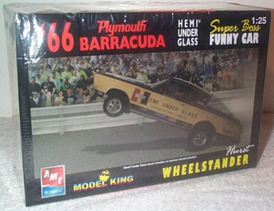 Hurst Hemi Under Glass Model Kit