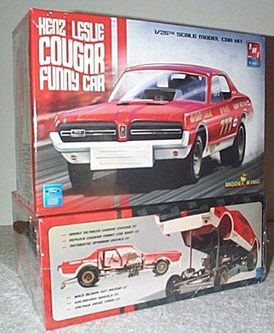 Henz & Leslie Cougar Funny Car Model King