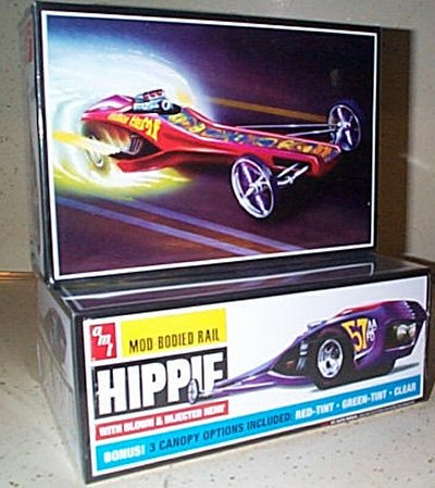 Hippie Hemi Mod Bodied Rail Model Kit