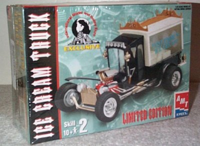 Ice Cream Truck Model Kit