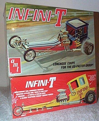 Infini-T Longnose Coupe Model Kit