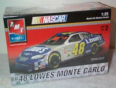 Jimmie Johnson Lowe's Monte Carlo Model Kit
