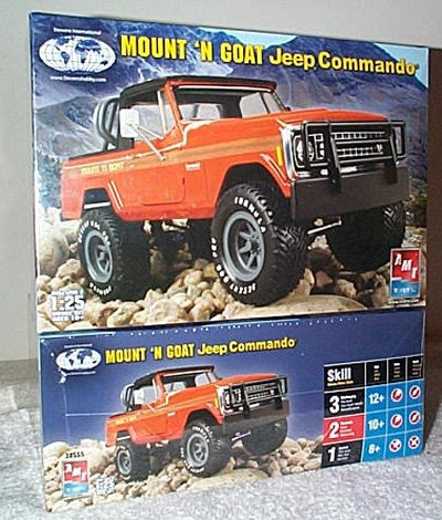 Mount 'N Goat Jeep Commando