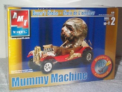 Mummy Machine Buyer's Choice Model Kit