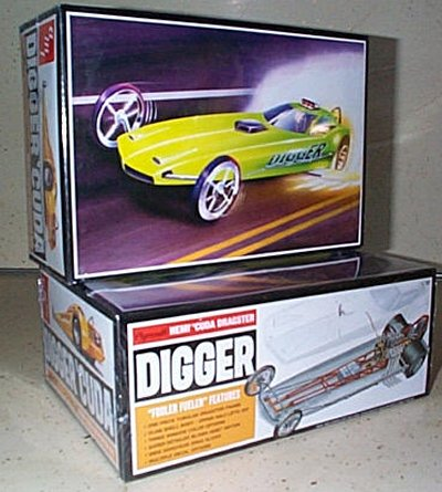 Plymouth Digger Cuda Model Kit