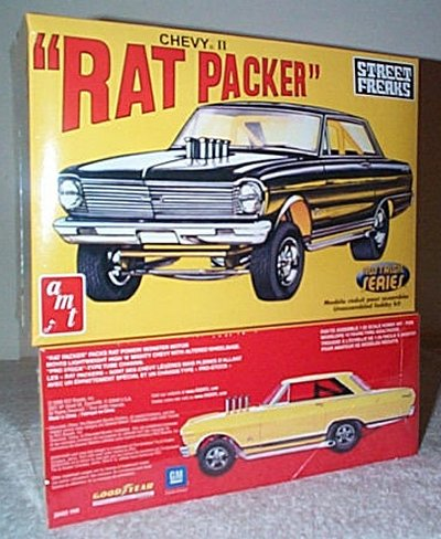 Rat Packer II Chevy II AWB Model Kit