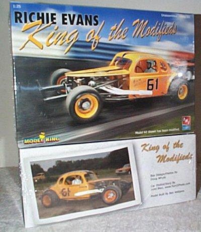 Richie Evans Modified Stock Car