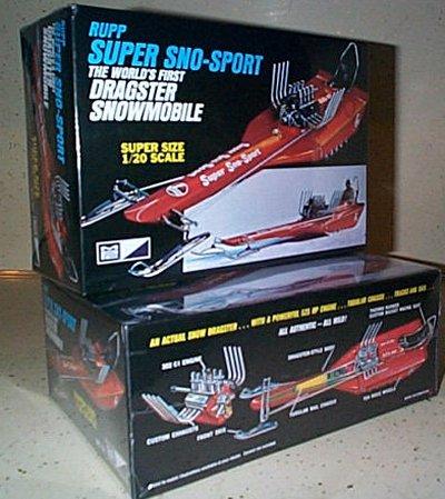 Rupp Super Sno-Sport Snowmobile Model