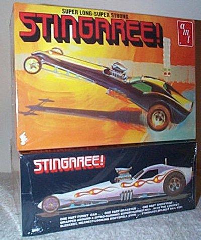 Stingaree Long Nose Dragster Model Kit