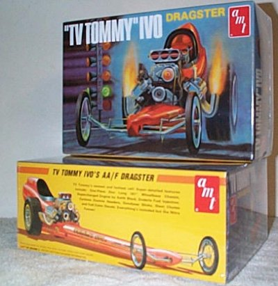 TV Tommy Ivo Dragster Model Kit
