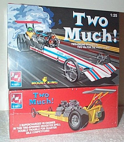 Two Much Twin Engine Dragster
