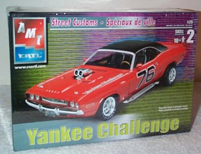 Yankee Challenger Dodge Street Custom Model