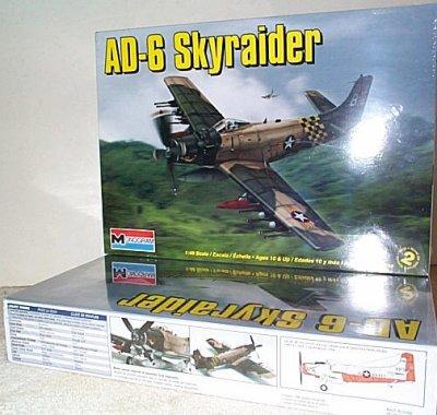 AD-6 Skyraider Plastic Model Kit