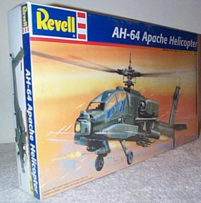AH-64 Apache Helicopter Model Kit
