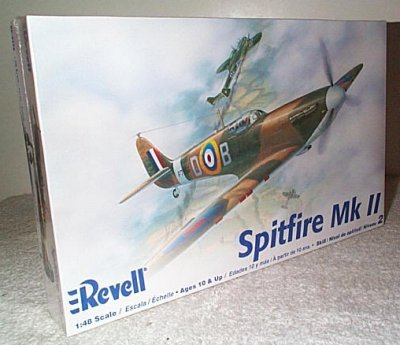 British Spitfire MK II Model Kit