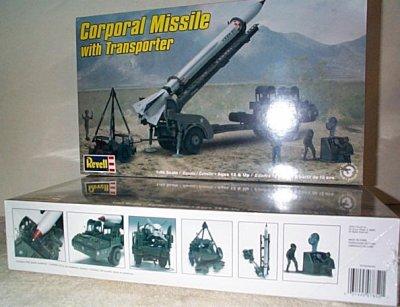 Corporal Missile w/Transporter