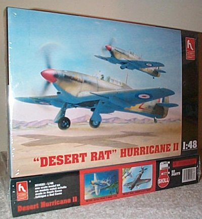 Desert Rat Hurricane II Model Kit