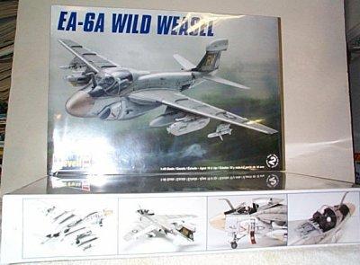 EA-6A Wild Weasel Radar Jamming Jet