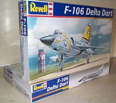F-106 Delta Dart Model Kit