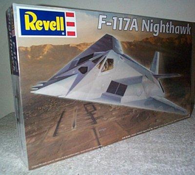 F-117A Nighthawk Radar Evading Fighter