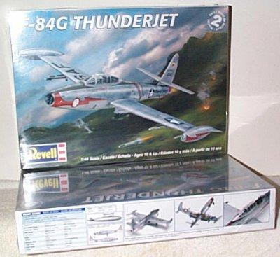 F-84G Thunderjet Jet Aircraft Model Kit