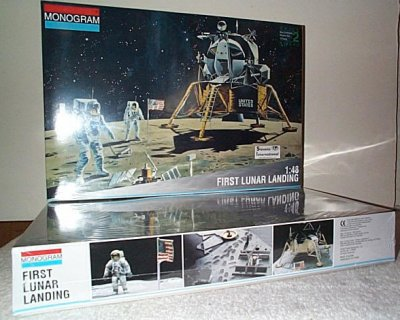 First Lunar Landing Model Kit
