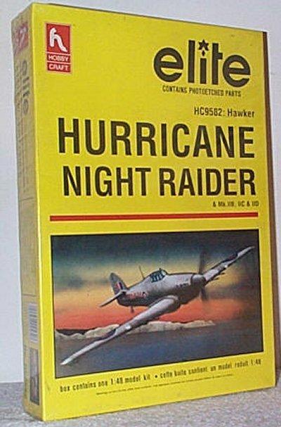 Hawker Hurricane Night Raider Elite Model