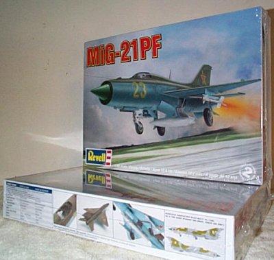 Mig-21PF Plastic Model Kit