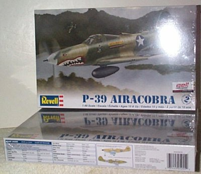 P-39 Aircobra Aircraft Model Kit