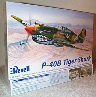 P-40B Tiger Shark Fighter Aircraft